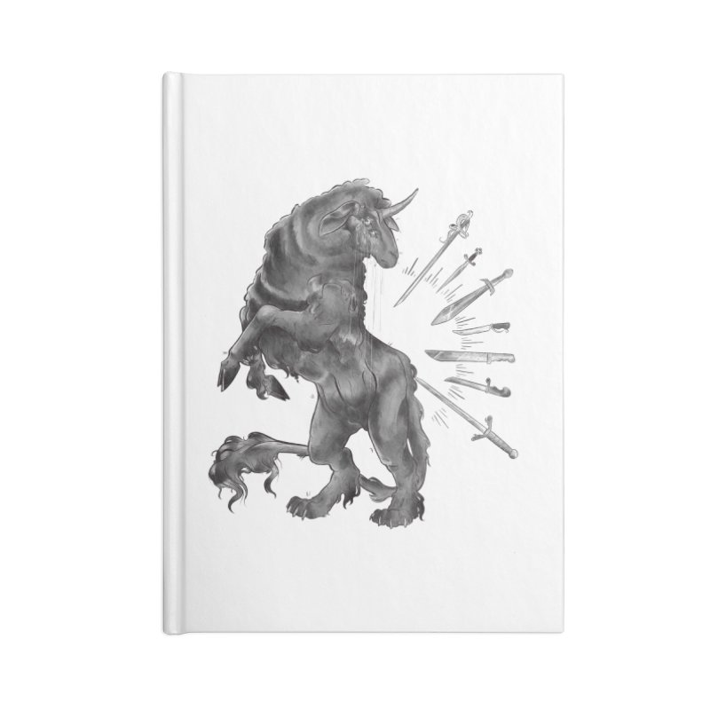 Sword keeper 4 Accessories Notebook by Raining-Static Art