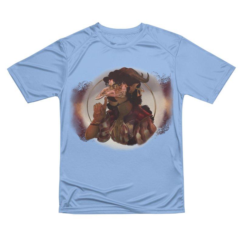 Mischievous Intentions Men's T-Shirt by Raining-Static Art
