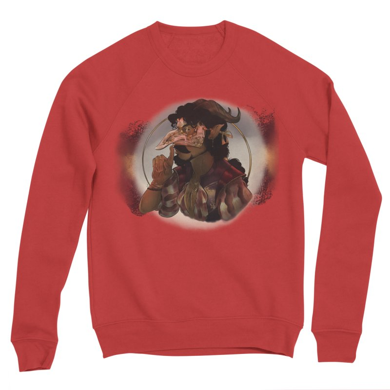 Mischievous Intentions Men's Sweatshirt by Raining-Static Art