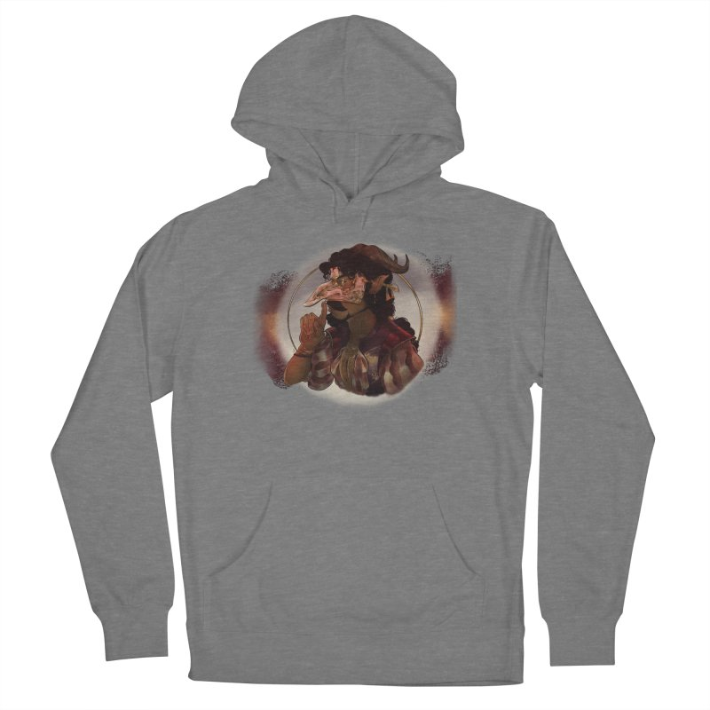 Mischievous Intentions Women's Pullover Hoody by Raining-Static Art