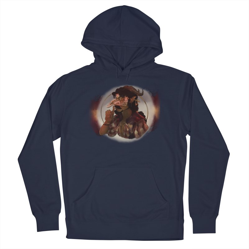 Mischievous Intentions Men's Pullover Hoody by Raining-Static Art