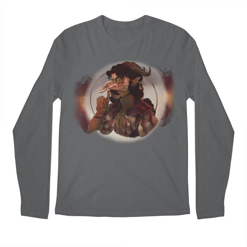 Mischievous Intentions Men's Longsleeve T-Shirt by Raining-Static Art