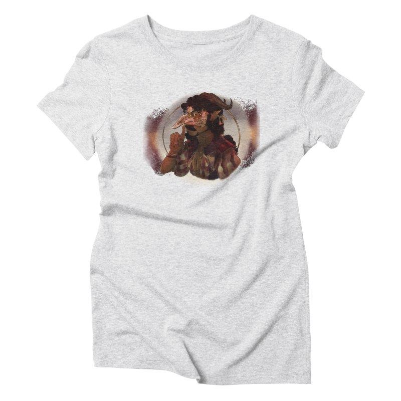 Mischievous Intentions Women's T-Shirt by Raining-Static Art