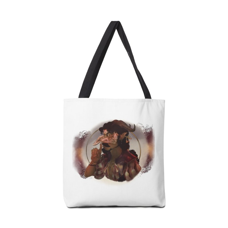Mischievous Intentions Accessories Bag by Raining-Static Art