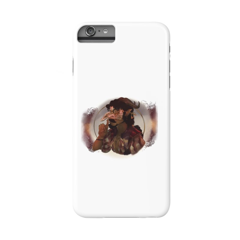 Mischievous Intentions Accessories Phone Case by Raining-Static Art