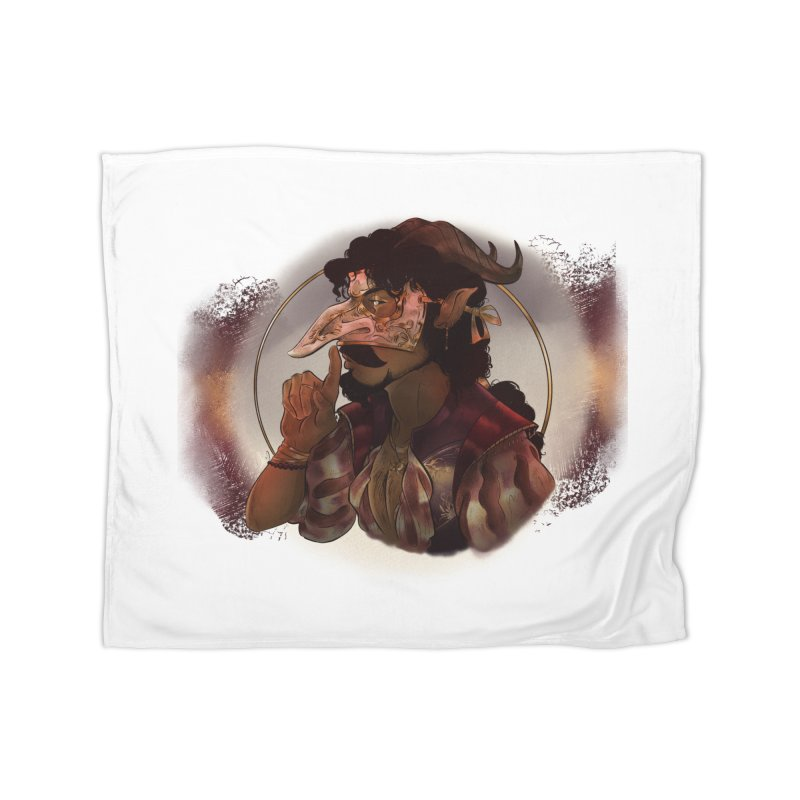 Mischievous Intentions Home Blanket by Raining-Static Art