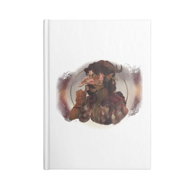 Mischievous Intentions Accessories Notebook by Raining-Static Art