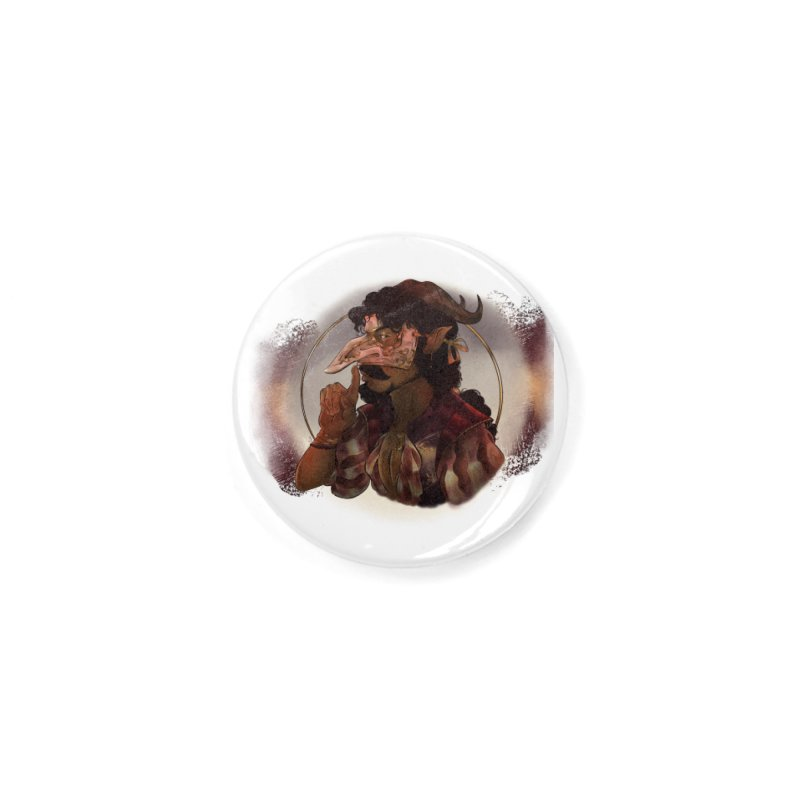 Mischievous Intentions Accessories Button by Raining-Static Art