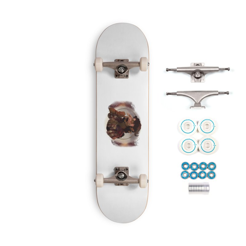 Mischievous Intentions Accessories Skateboard by Raining-Static Art