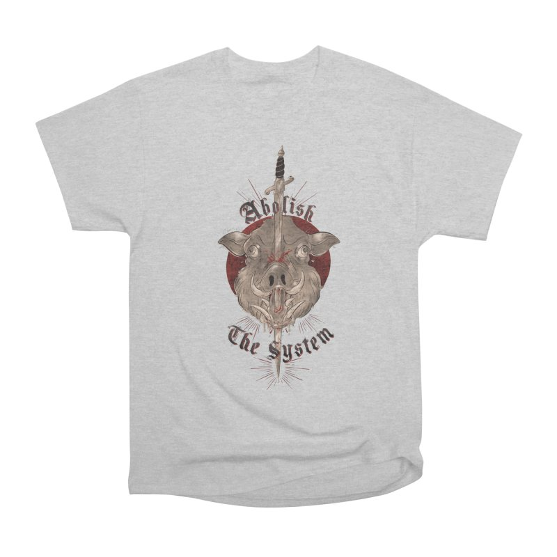 Abolish the System Men's T-Shirt by Raining-Static Art