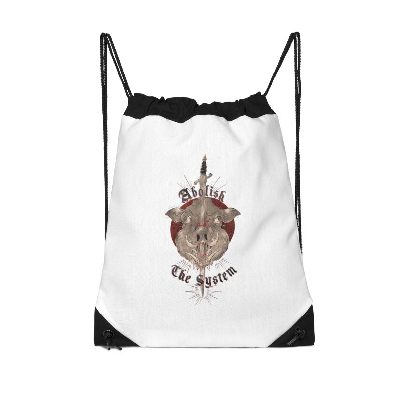 Abolish the System Accessories Bag by Raining-Static Art