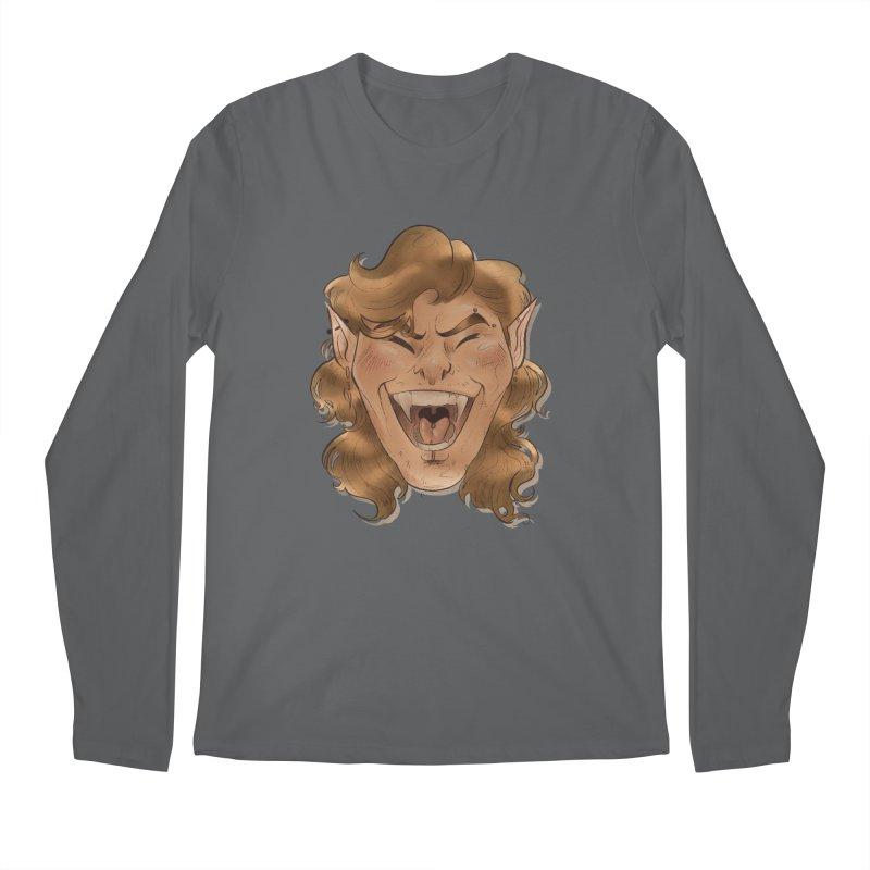 Royce the vampire Men's Longsleeve T-Shirt by Raining-Static Art