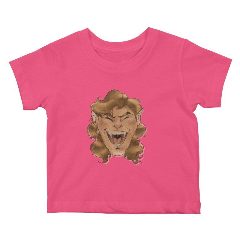 Royce the vampire Kids Baby T-Shirt by Raining-Static Art