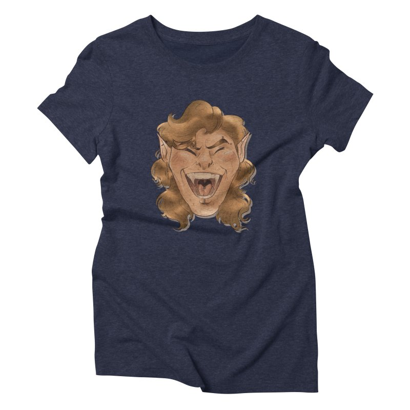 Royce the vampire Women's T-Shirt by Raining-Static Art