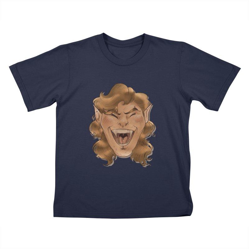 Royce the vampire Kids T-Shirt by Raining-Static Art