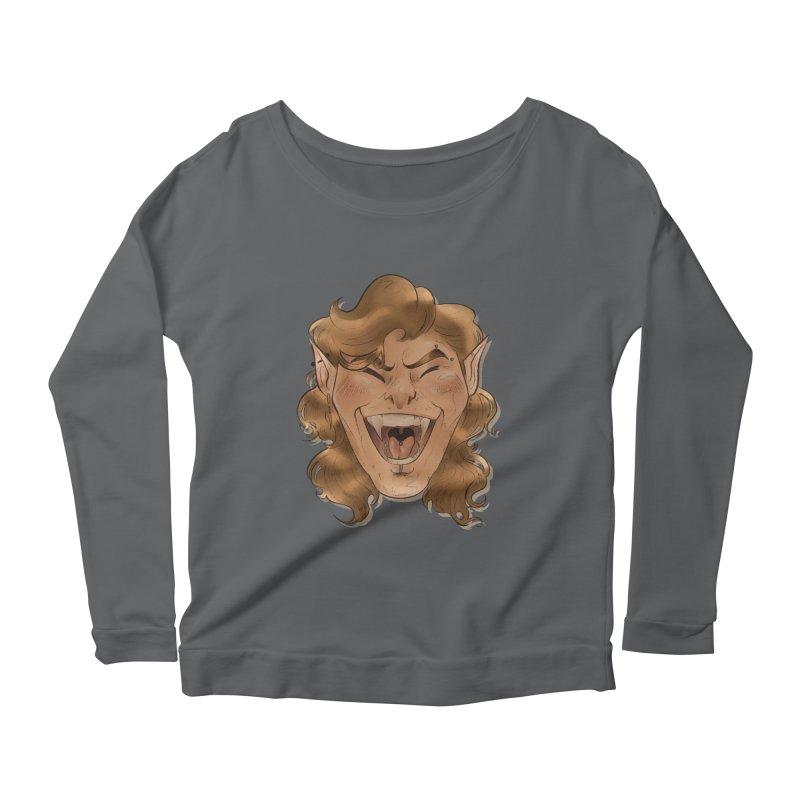 Royce the vampire Women's Longsleeve T-Shirt by Raining-Static Art