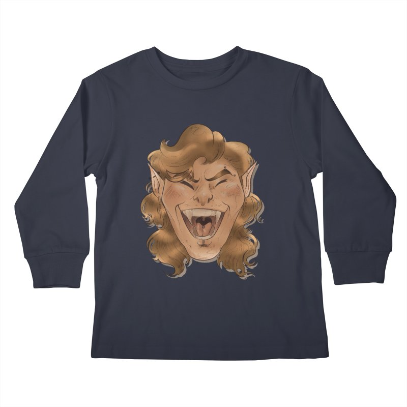 Royce the vampire Kids Longsleeve T-Shirt by Raining-Static Art