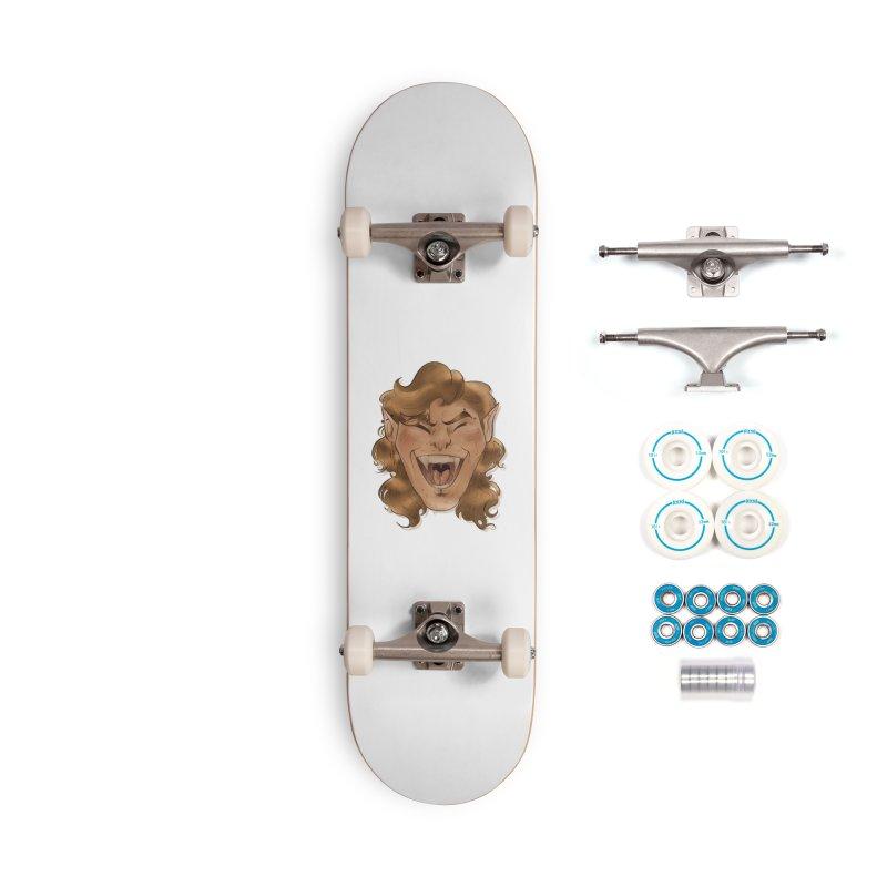 Royce the vampire Accessories Skateboard by Raining-Static Art