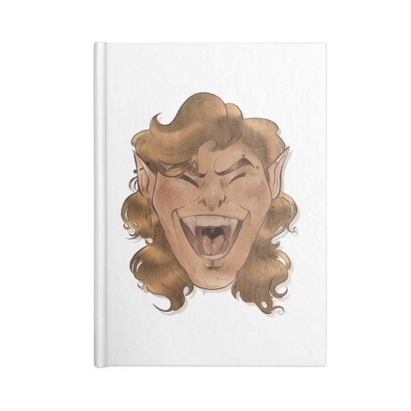 Royce the vampire Accessories Notebook by Raining-Static Art