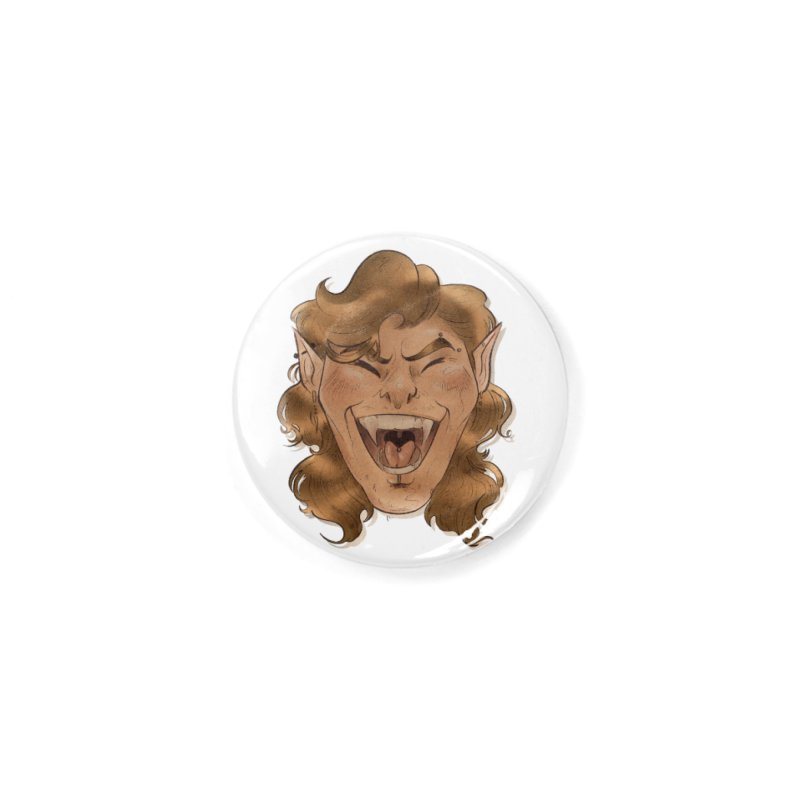 Royce the vampire Accessories Button by Raining-Static Art