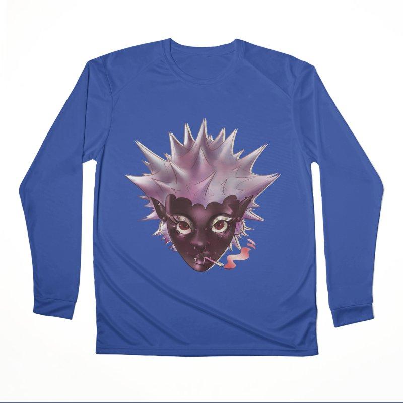 Janet the vampire Men's Longsleeve T-Shirt by Raining-Static Art