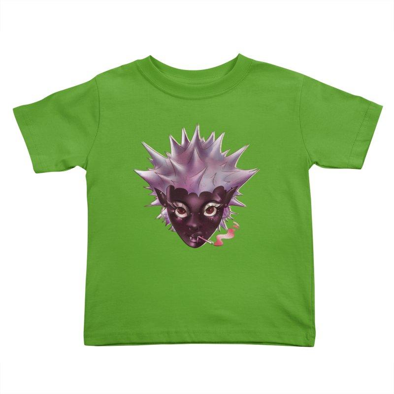 Janet the vampire Kids Toddler T-Shirt by Raining-Static Art