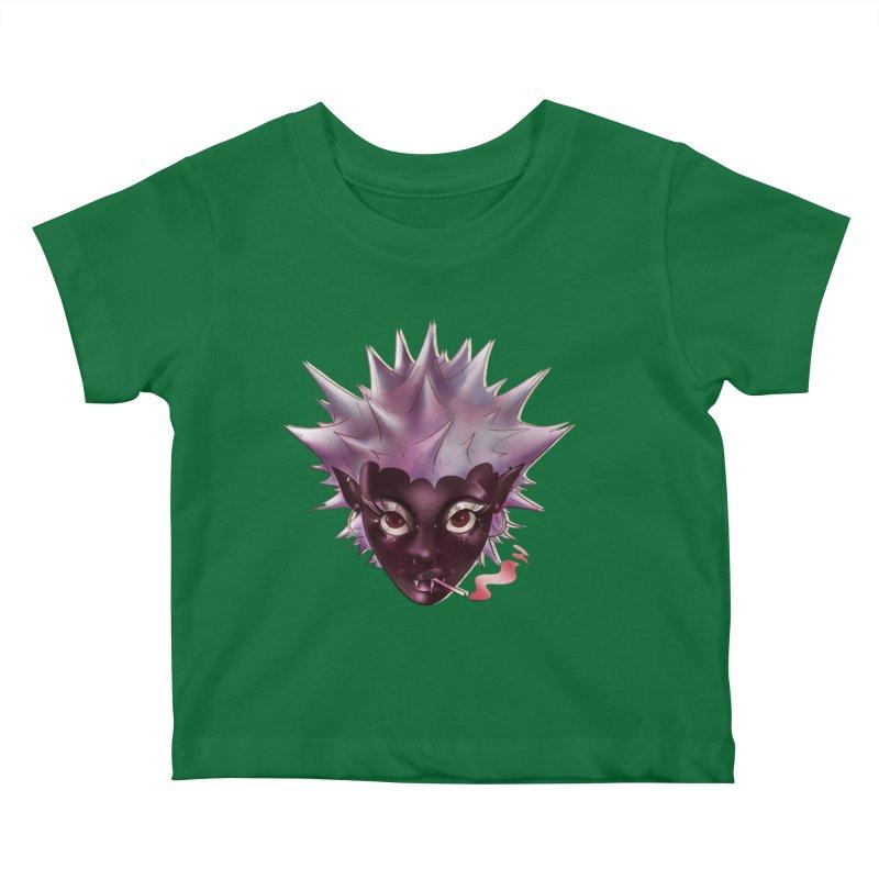 Janet the vampire Kids Baby T-Shirt by Raining-Static Art