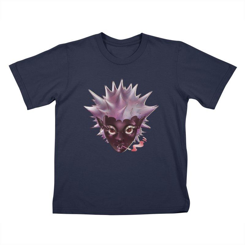 Janet the vampire Kids T-Shirt by Raining-Static Art