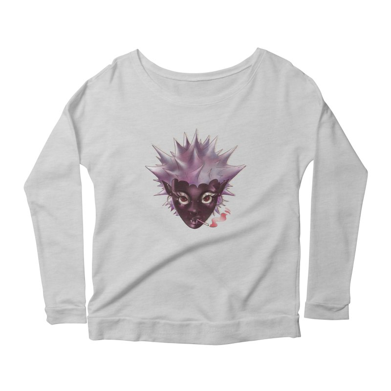 Janet the vampire Women's Longsleeve T-Shirt by Raining-Static Art