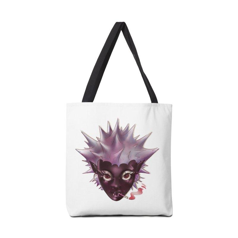 Janet the vampire Accessories Bag by Raining-Static Art