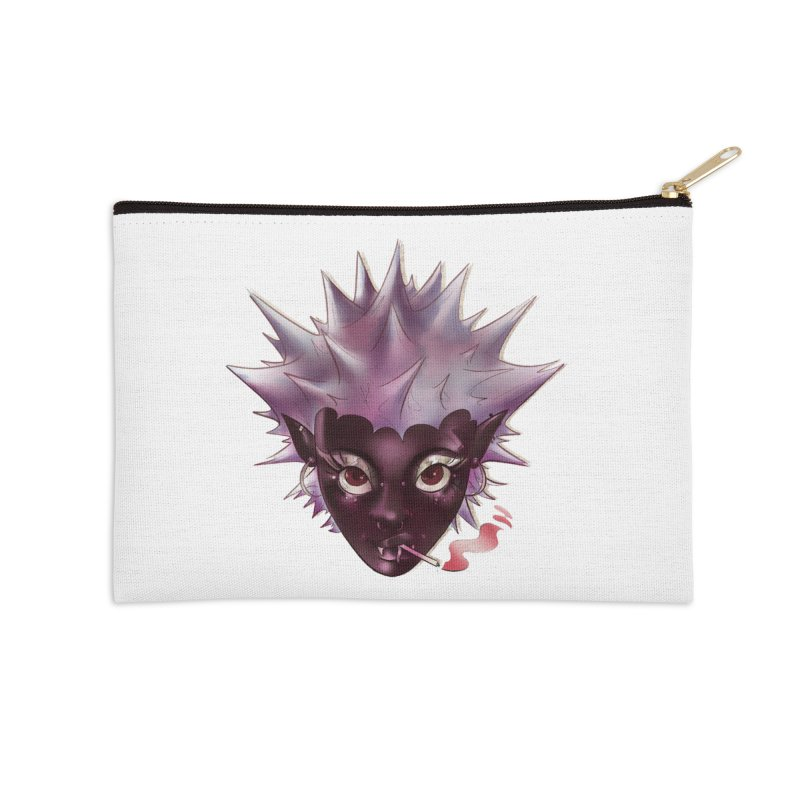Janet the vampire Accessories Zip Pouch by Raining-Static Art