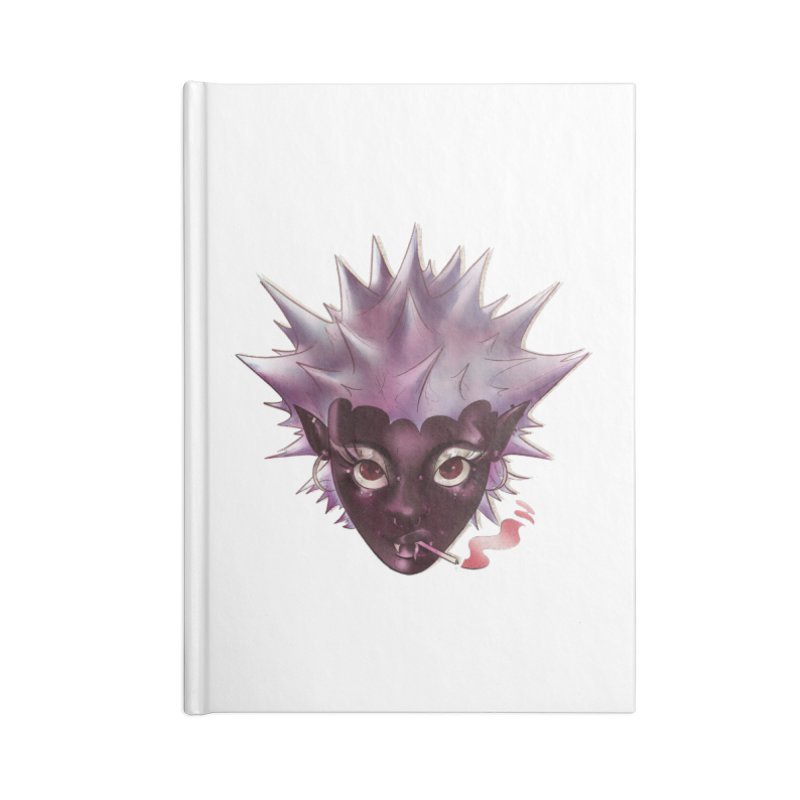 Janet the vampire Accessories Notebook by Raining-Static Art