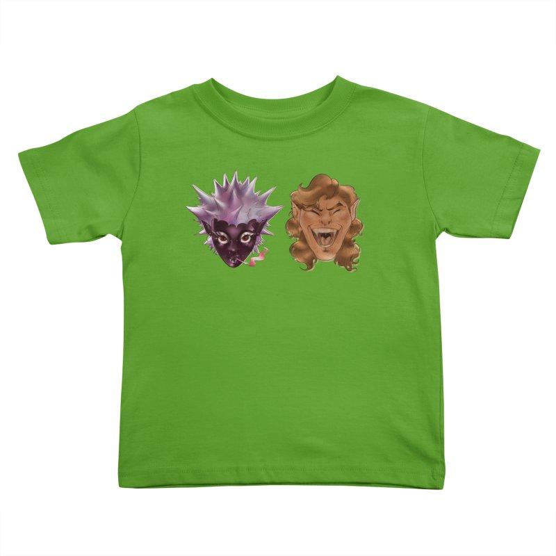They Kids Toddler T-Shirt by Raining-Static Art