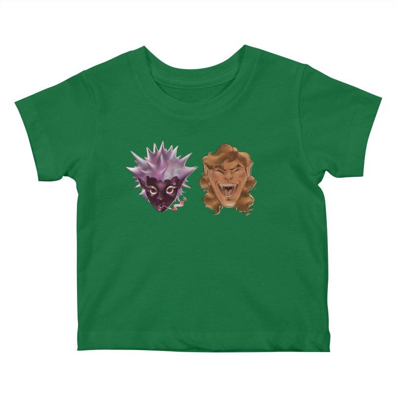 They Kids Baby T-Shirt by Raining-Static Art