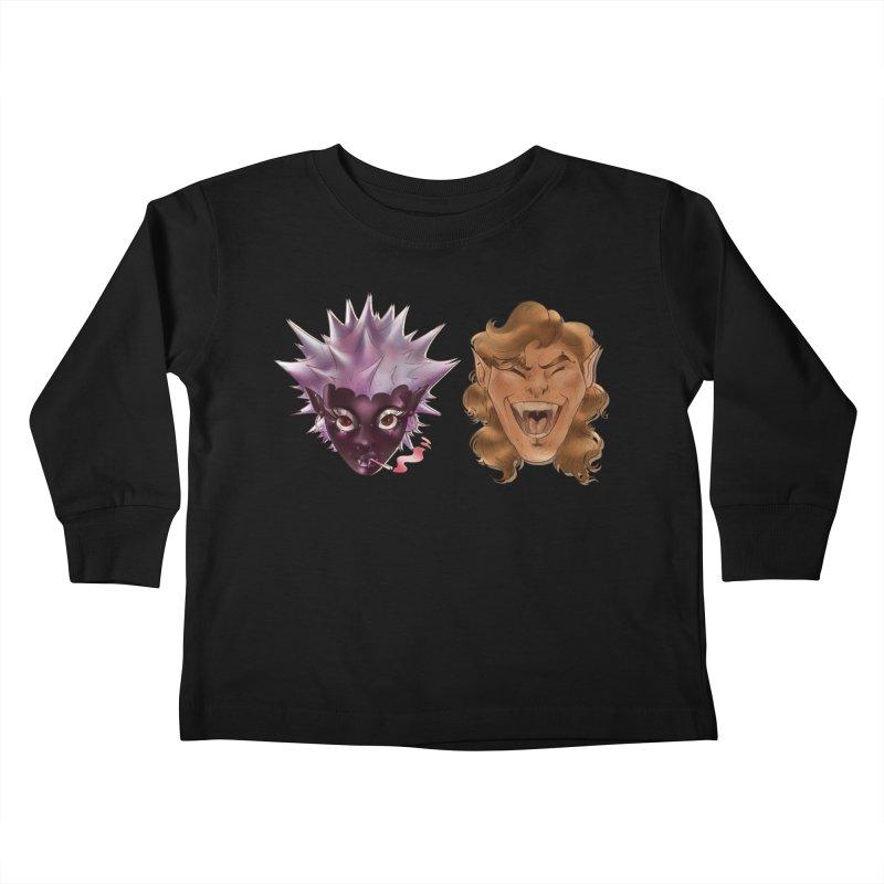 They Kids Toddler Longsleeve T-Shirt by Raining-Static Art