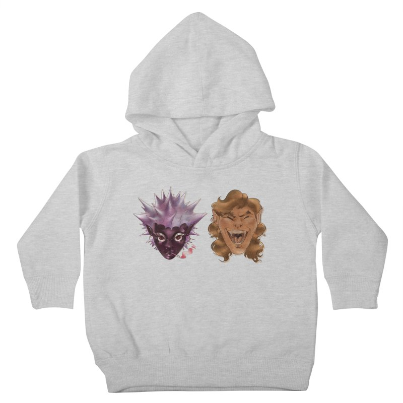 They Kids Toddler Pullover Hoody by Raining-Static Art