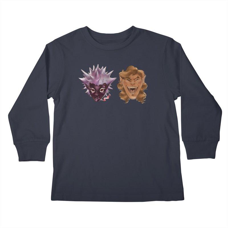 They Kids Longsleeve T-Shirt by Raining-Static Art