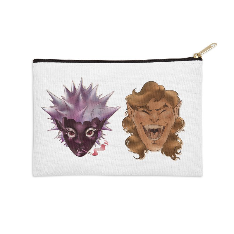 They Accessories Zip Pouch by Raining-Static Art