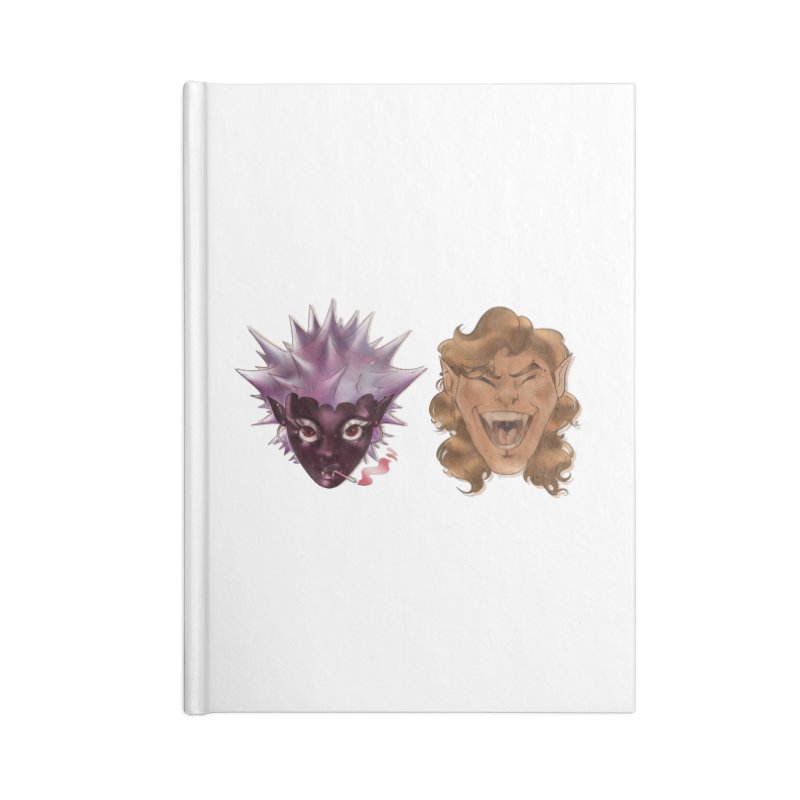 They Accessories Notebook by Raining-Static Art