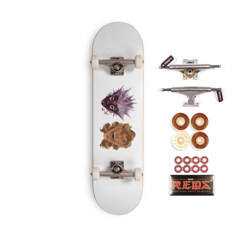 They Accessories Skateboard by Raining-Static Art