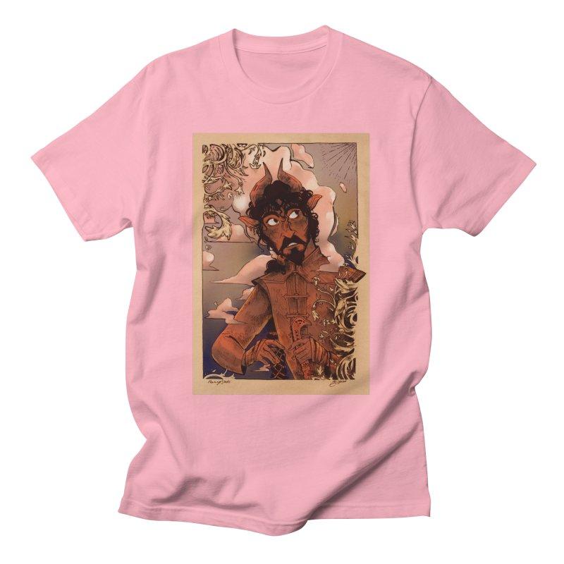 Fear Men's T-Shirt by Raining-Static Art