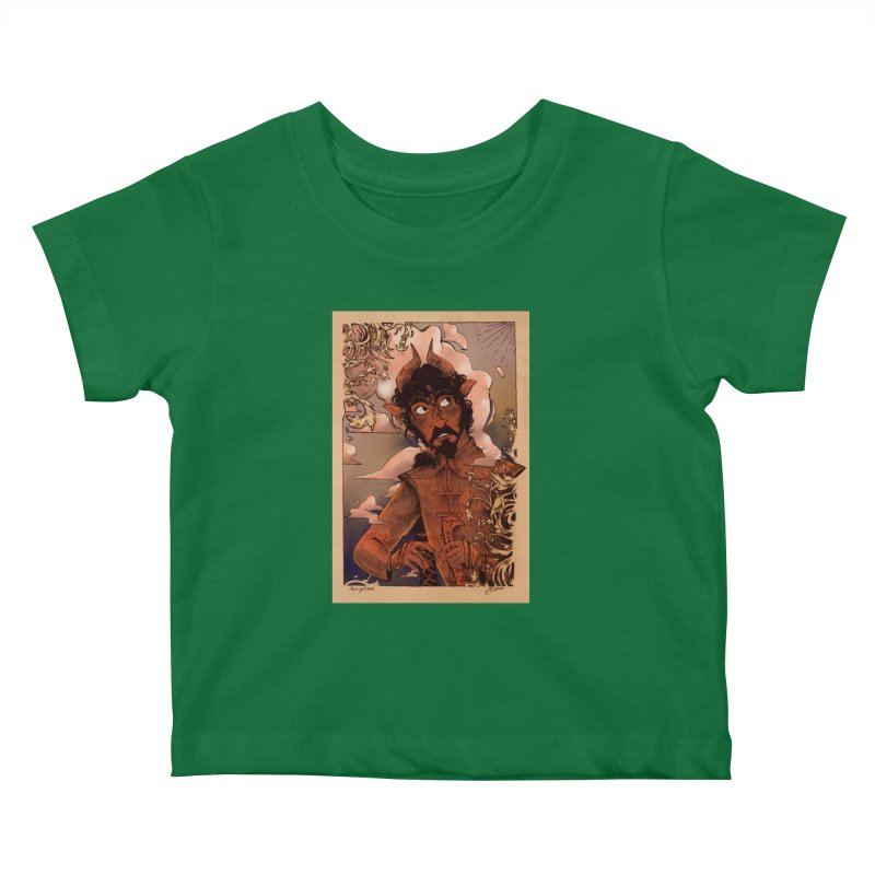 Fear Kids Baby T-Shirt by Raining-Static Art