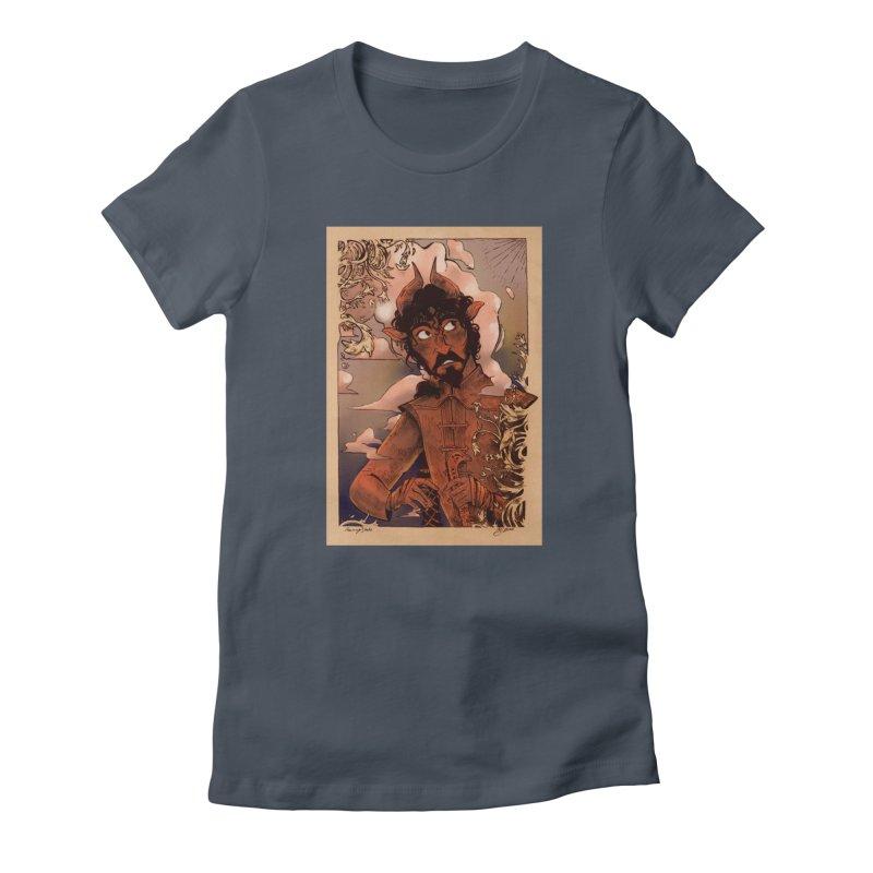 Fear Women's T-Shirt by Raining-Static Art