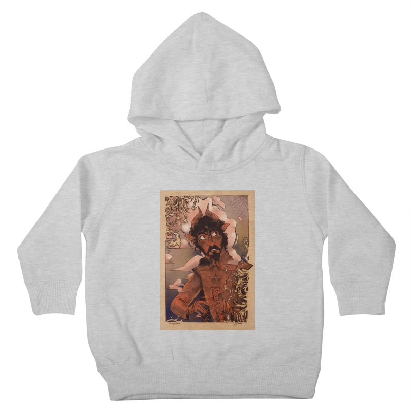 Fear Kids Toddler Pullover Hoody by Raining-Static Art