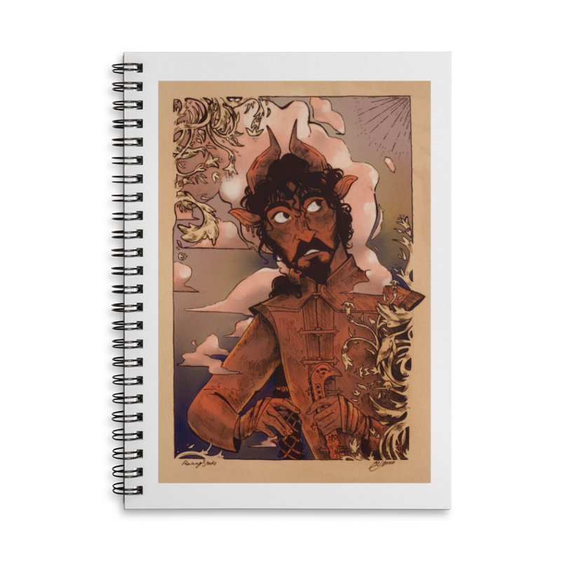 Fear Accessories Notebook by Raining-Static Art