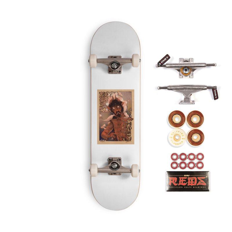 Fear Accessories Skateboard by Raining-Static Art