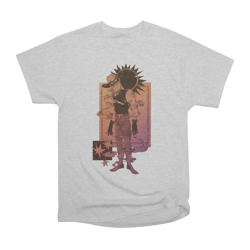 Fell in love with a rider Men's T-Shirt by Raining-Static Art