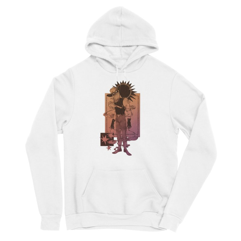 Fell in love with a rider Women's Pullover Hoody by Raining-Static Art