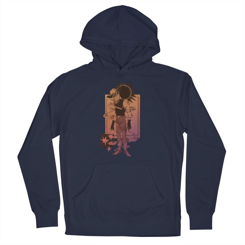 Fell in love with a rider Men's Pullover Hoody by Raining-Static Art