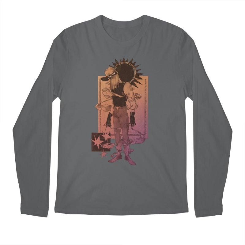 Fell in love with a rider Men's Longsleeve T-Shirt by Raining-Static Art